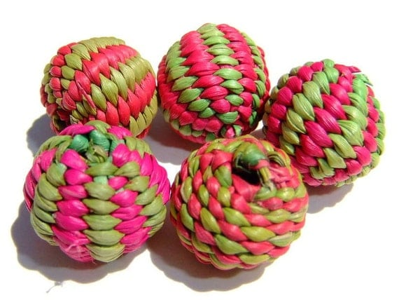 Hand Woven Beads from Ecuador