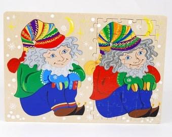 Divided puzzle - tillte hobits ( Age 4-5 )