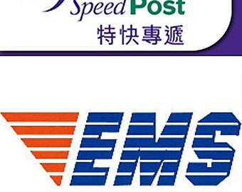 Upgrade Shipping to EMS Speedpost for Rush Orders