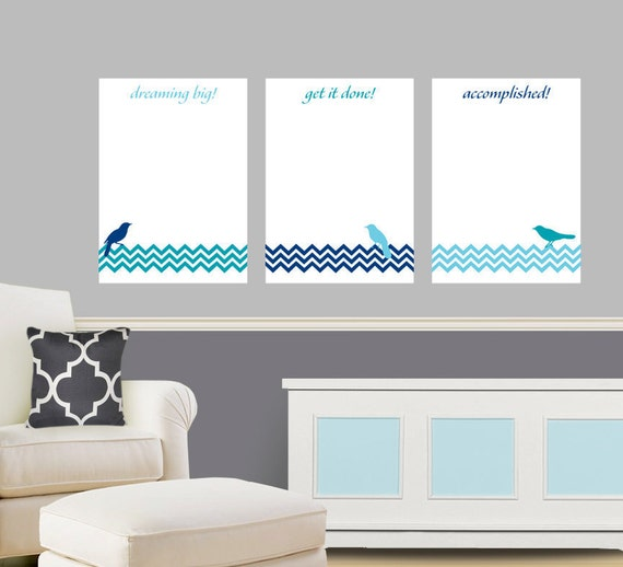 Items Similar To Dry Erase Board Vinyl Wall Decals