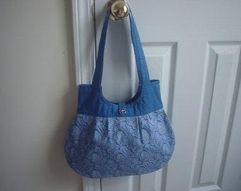 Fashionable hobo boutique handbag