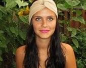 Nude Turban Headband