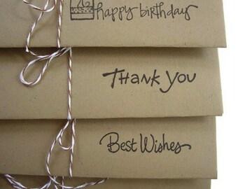 4 money envelopes, tip envelope, christmas envelope,happy birthday envelope,thank you envelope,congratulations envelope,best wishes envelope
