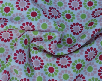 Pink and Green Flower by Riley Blake Designs, 1 Yard
