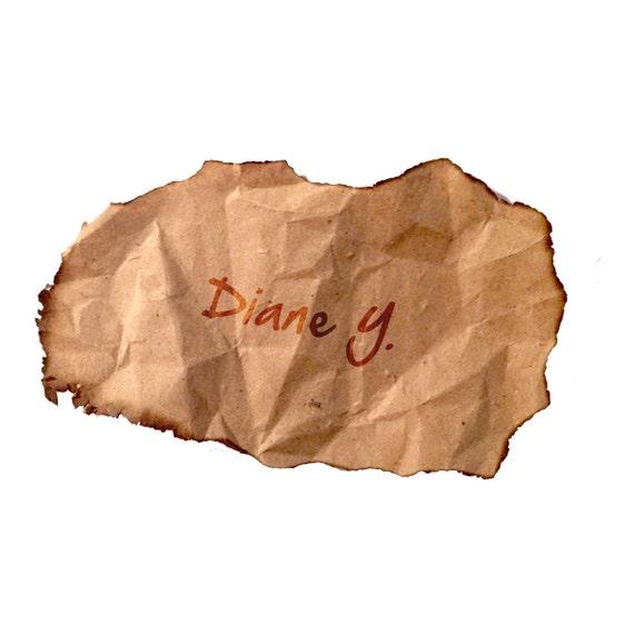 Custom Listing for Diane Y.
