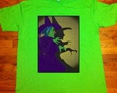 Wicked Witch of the West Wizard of Oz Unisex Alstyle Tee Shirt Culture Cloth Zinc Collection