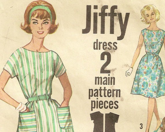 1960s Bewitched Samantha Stevens Day Dress Sewing Pattern, Simplicity 4977