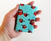 Business Card Case Holder Cover - KAWAII- Birds