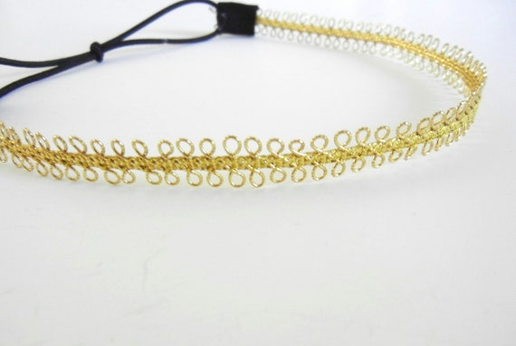 Delicate Gold Headband