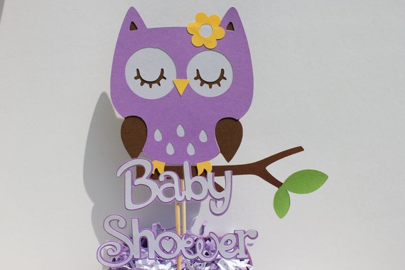 purple owl baby shower decorations unavailable listing on etsy