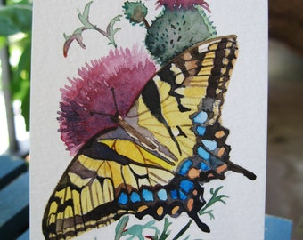 ACEO Limited Edition 1/25 - A butterfly