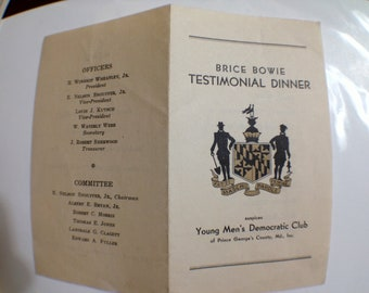 Brice Bowie Testimonial Maryland  Rare Beauty Ephemera