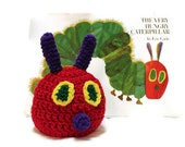 Very Hungry Caterpillar Crochet Hat for Baby up to Adult