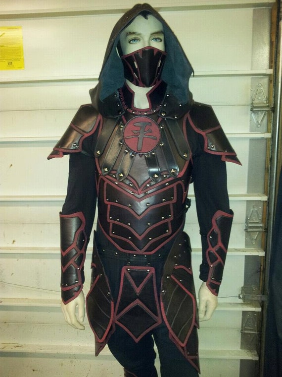 Leather Armor Deluxe Nightingale Set