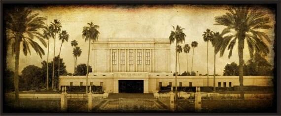 LDS Mesa Temple Picture Plaque