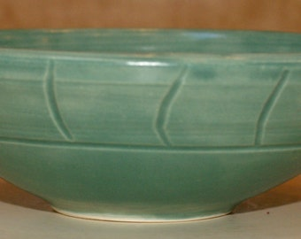 Set of 3 Small Blue Green Nesting Bowls