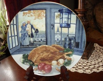 The Colonial Thanksgiving Plate