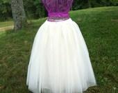 Custom made tulle skirt Ladies Women's Wedding Prom Parties