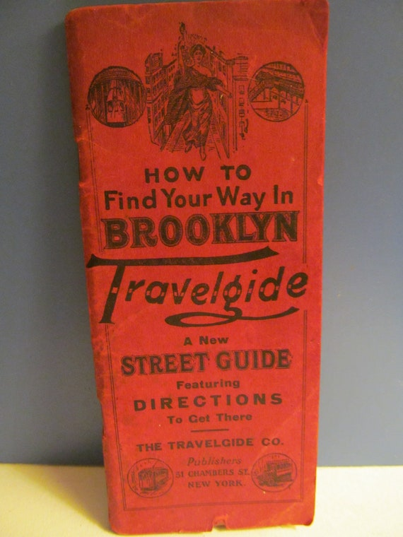 How To Find Your Way in Brooklyn Travelgide 1928