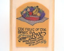 Popular items for fruit of the spirit on etsy for Fruit of the spirit goodness craft