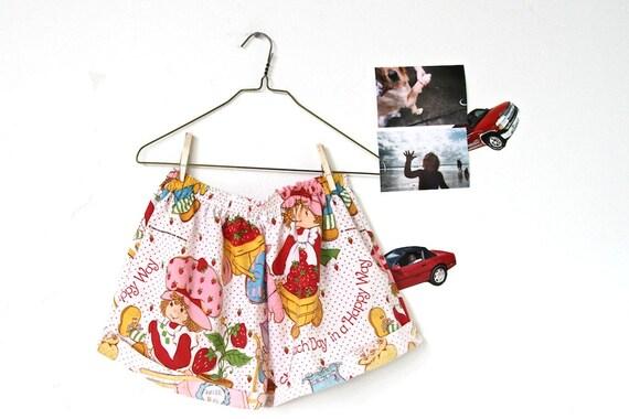 STUPID SALE strawberry shortcake, women's high waisted bloomer shorts