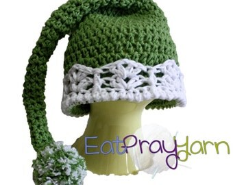 Custom Snowflake Elf Hat - Infant/Toddler