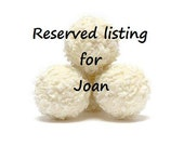 Special Listing for Joan - 3 dozen cookies