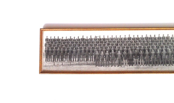 20% Off - Military Photo Yard Long Framed 1944
