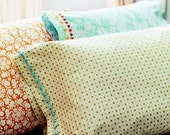 Pillow shams from Sewing in a Straight Line