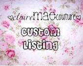 Custom Listing for Valerie Halvorson
