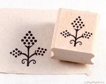 50% OFF SALE Flower pattern Rubber Stamp FP02