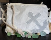 Recycled Sailcloth 5 X 7 Custom Order Wristlet