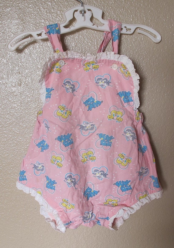 1940's Child's Romper Perfect Summer Outfit