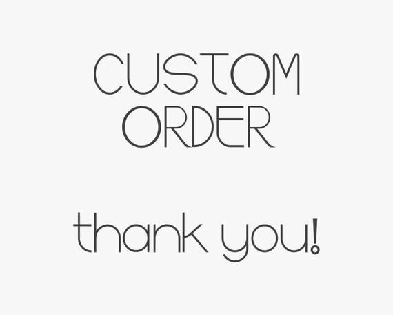 Custom Order Lauren