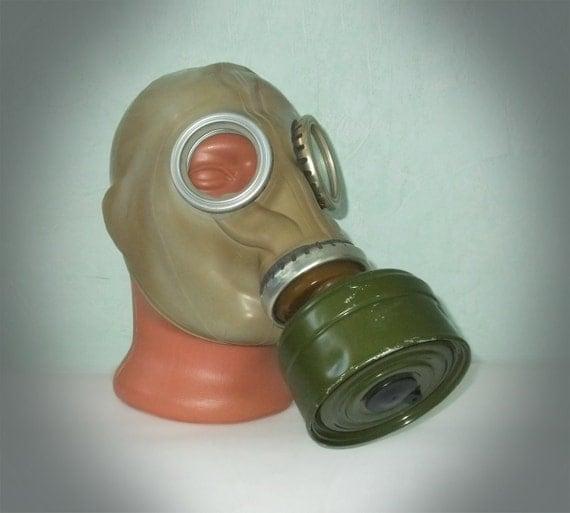 Vintage Rubber Gas Mask