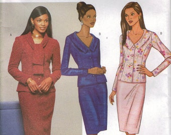 Butterick Sewing Pattern 3253 - Misses' Top & Skirt (8-12)