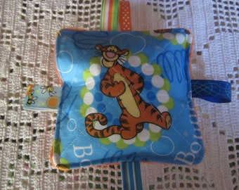 Baby crinkle toy, baby boy toy, baby girl toy, crinkle Toy, tiger, busy mom toy