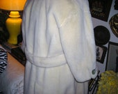 1960's Swing Coat with MOP Buttons....Satin LIning..........Mod Sixties Style