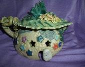 Enchanted Teapot Fairy House