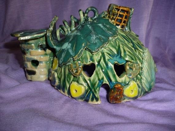 Enchanted Emerald Fairy House