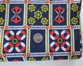 Set Sail.........Vintage Nautical Fabric - Huge Piece 33 x 176 inches