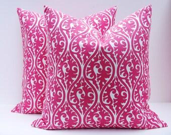 Decorative Throw Pillows Pink Pillow Hot Pink Pillow 20 X