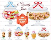Candy and Cookie Jars ---- Personal and Small Commercial Use ---- AA 0188