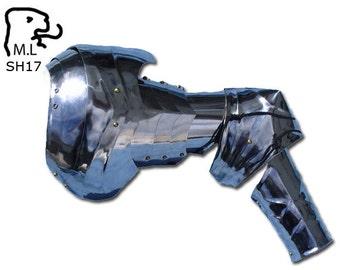 New pair of Medieval pauldron Warrior stainless steel Armor Larp SH17