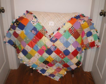 Baby boy or girl quilt-11