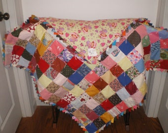 Baby Girl Strawberry Shortcake Quilt-56