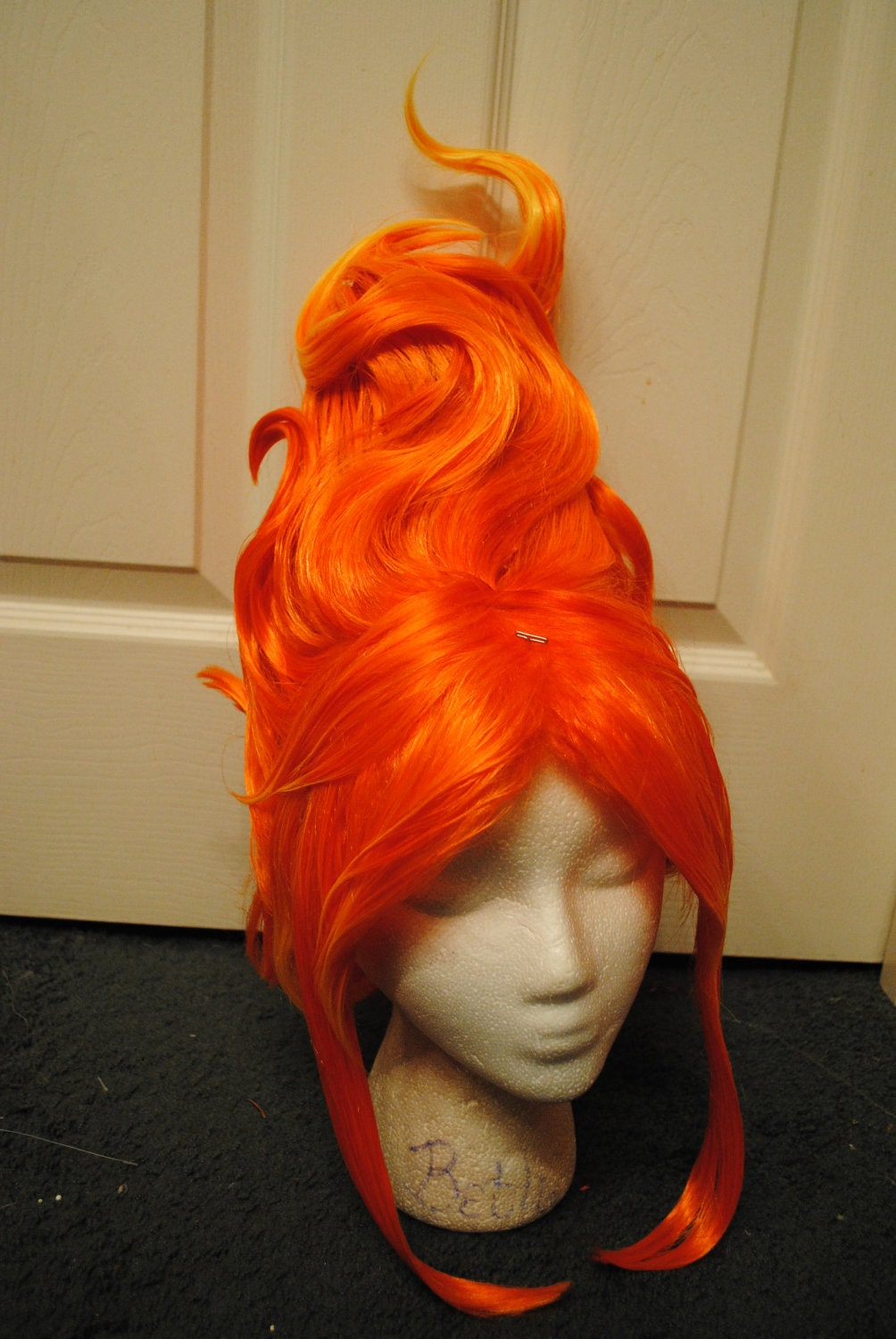 Flame Princess Adventure Time Inspired Cosplay Wig By Vendieh