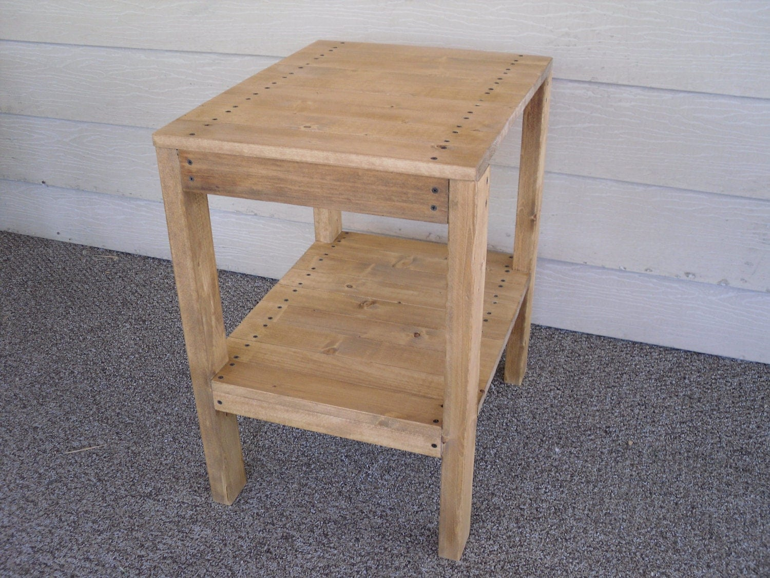 DIY PLANS to make End Table Indoor/Outdoor by wingstoshop