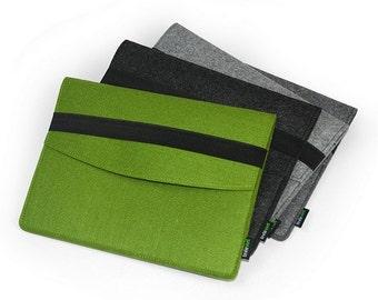 iPad Mini Wallet Case Sleeve Bag Retina iPad Mini 2 Pouch iPad 1 2 3 4 New iPad Air Cover with Black Elastic Band Custom Made E1141
