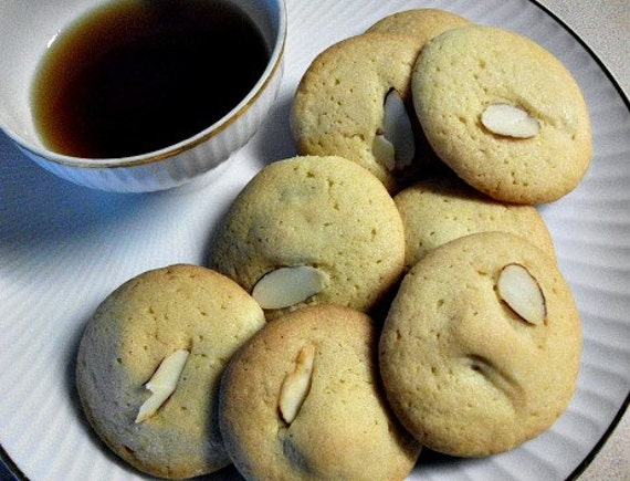 Almond Filled Cookies